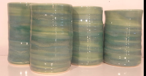 Green Tumblers (4)