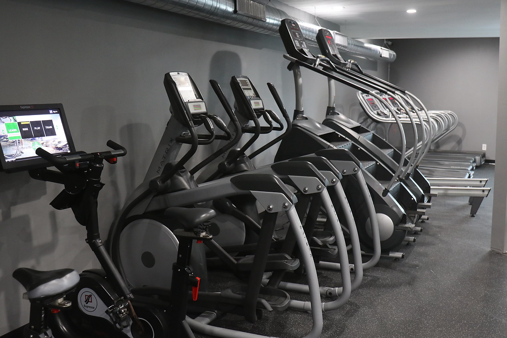 Image of the cardio equipment available in the Forge 24/7 Best Gym in South Tampa