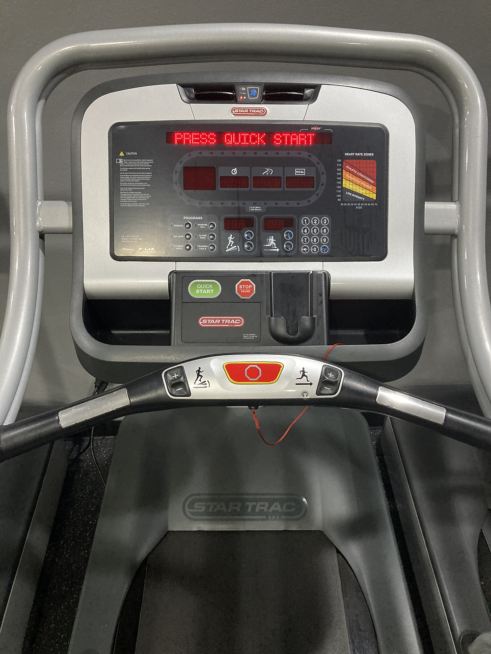 Max out incline, track your calories and time with our treadmills.