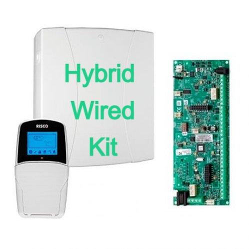 Stealth Wired Hybrid Alarm Panel Bundle