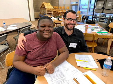 Mentor Feature: Derrick and Maishawn