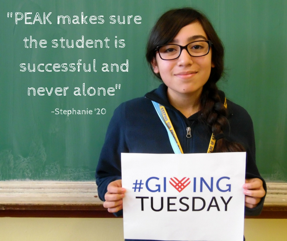 Stephanie Giving Tuesday