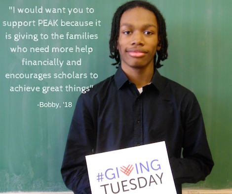 Bobby Giving Tuesday