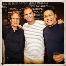 John Shea and Garret Wang