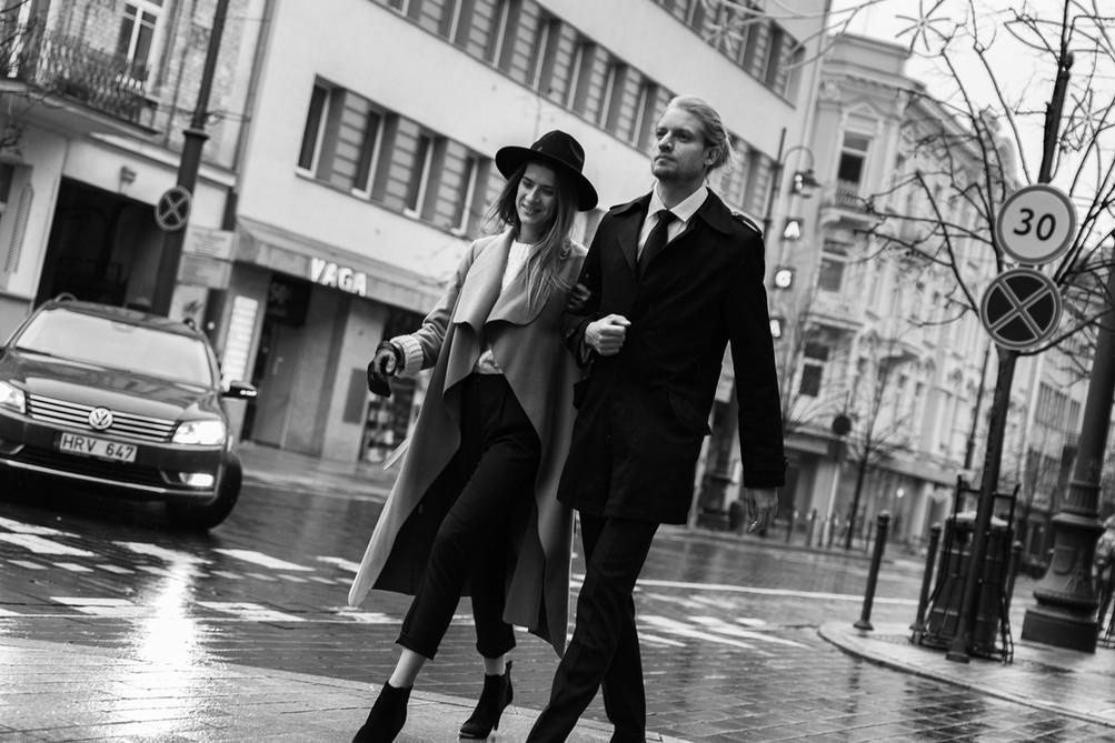 Poros fotosesija Vilniuje