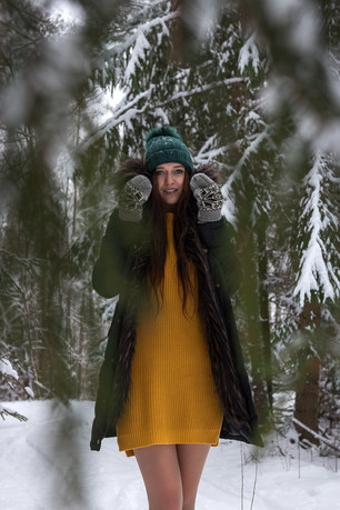 Žiemos fotosesija