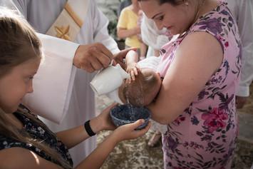 Krikštynų fotosesija