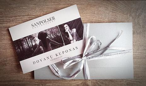 Fotosesijos dovanų kuponas