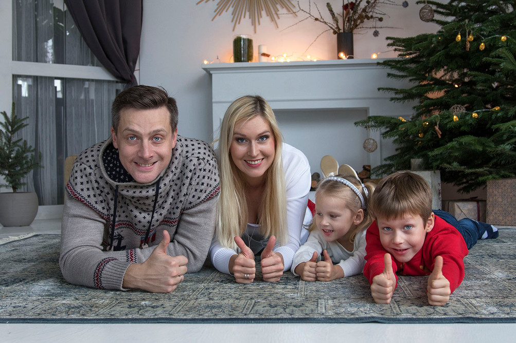 Kalėdinė fotosesija Vilniuje
