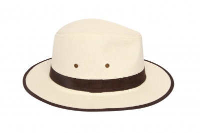 Fedora with Suede Band