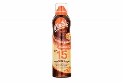 Malibu Dry Oil Sun Protection