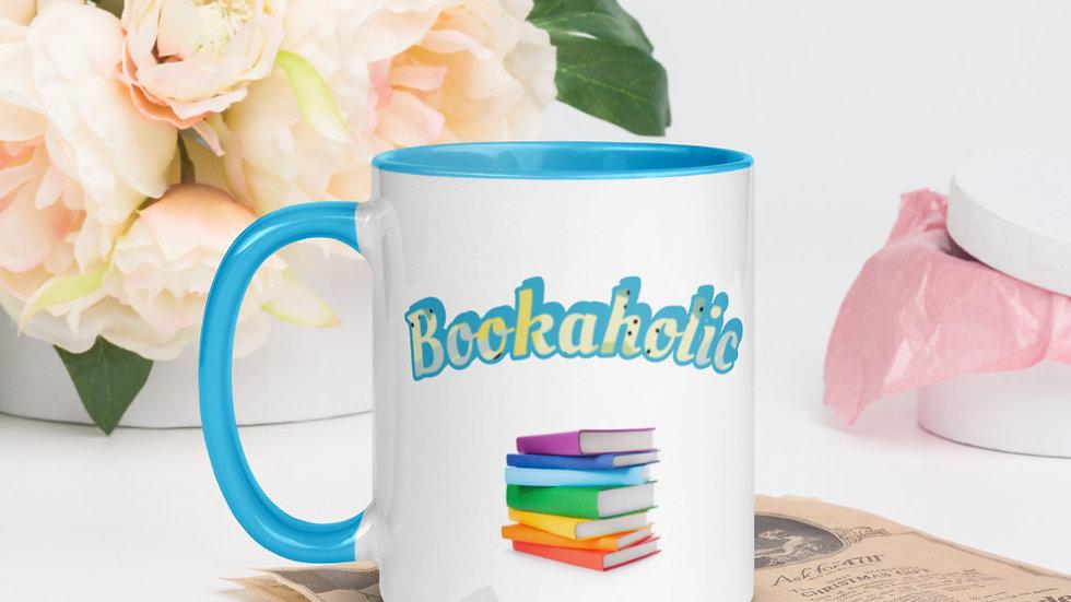 Colourful Bookaholic Mug