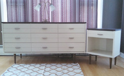 MCM Dresser and Nightstand