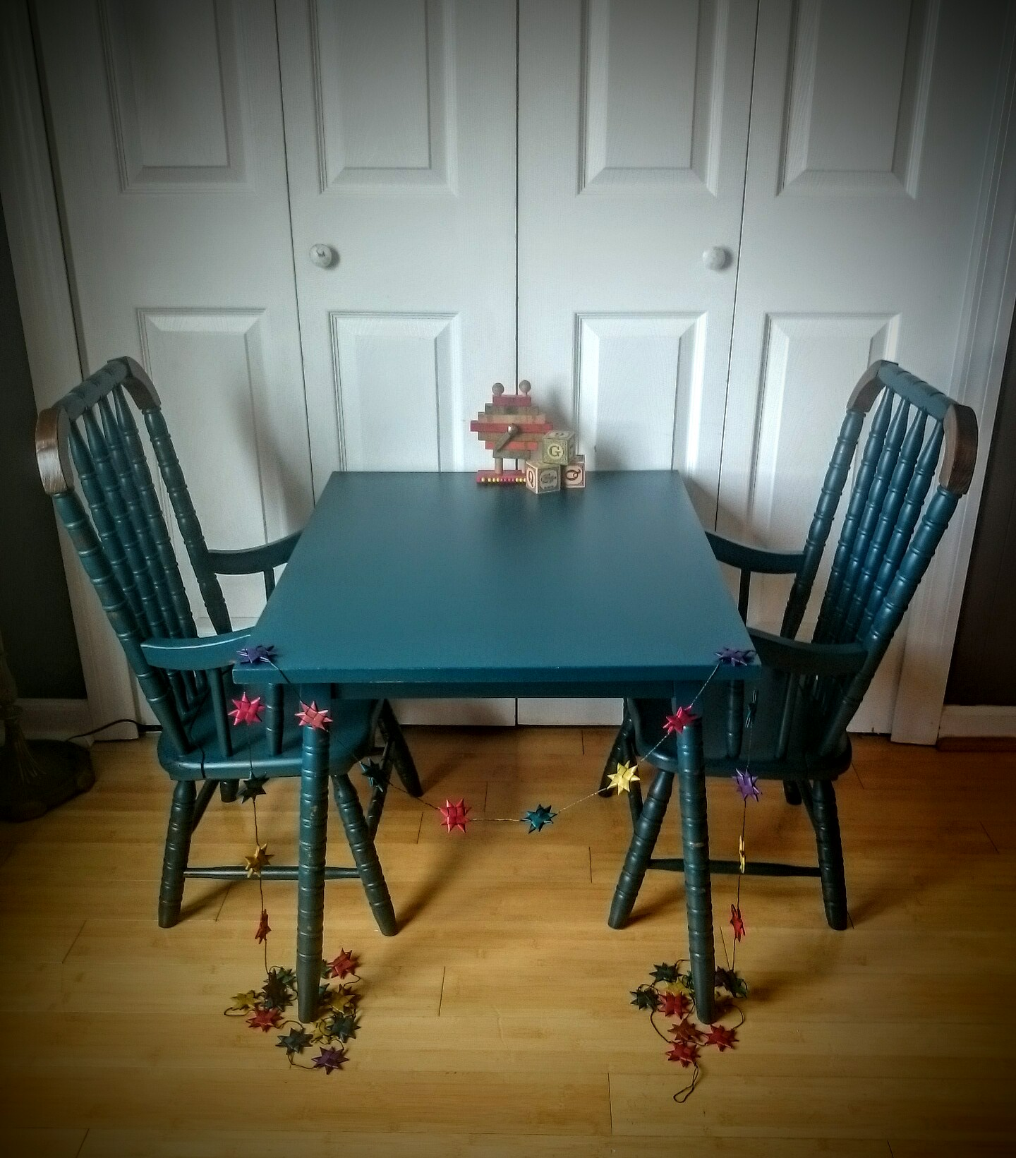 Vintage Kid's Table  Set