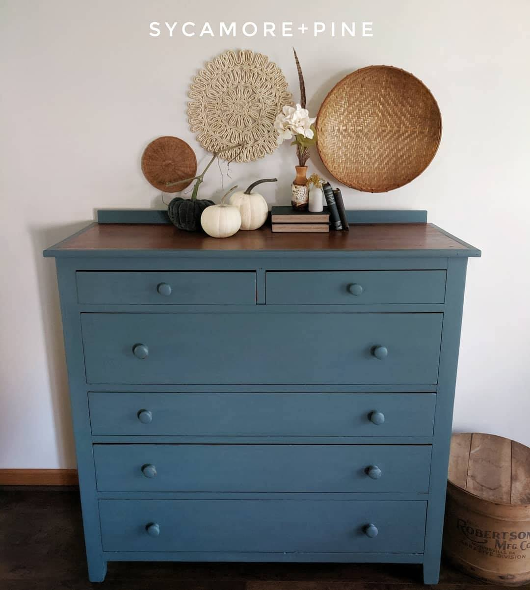 XL Primitive Pine Dresser