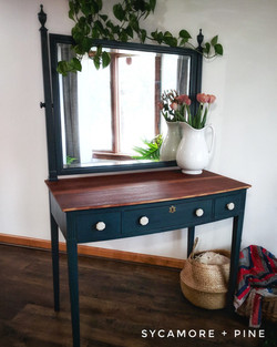 Mahogany Vanity Desk