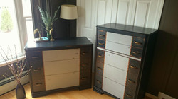 Art Deco Dresser Set