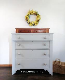 Primitive Pine dresser