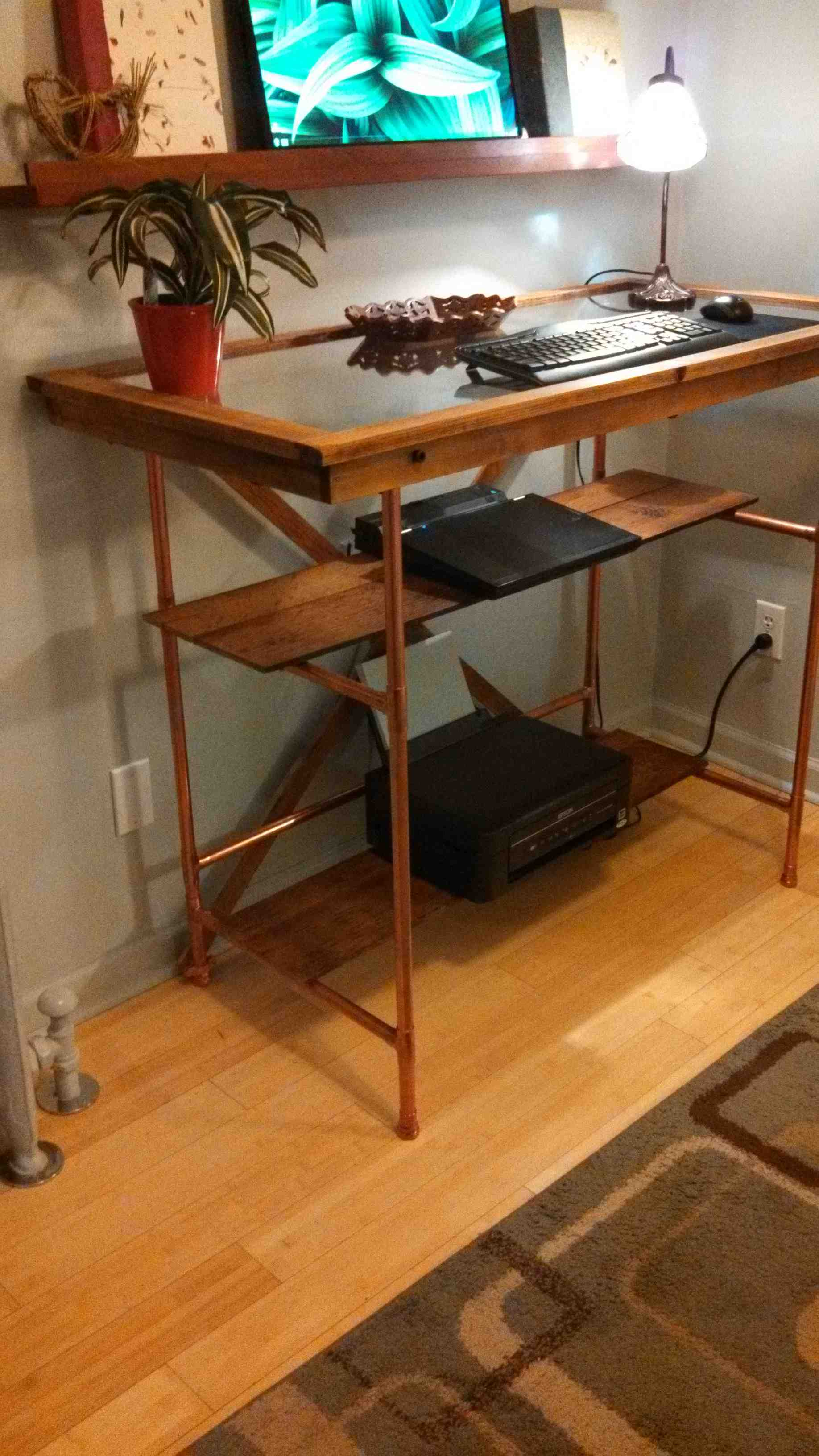 Custom Standing Desk
