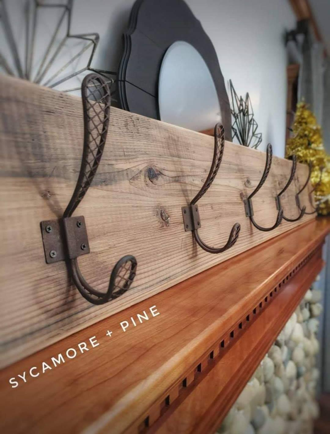 Custom Wall Rack
