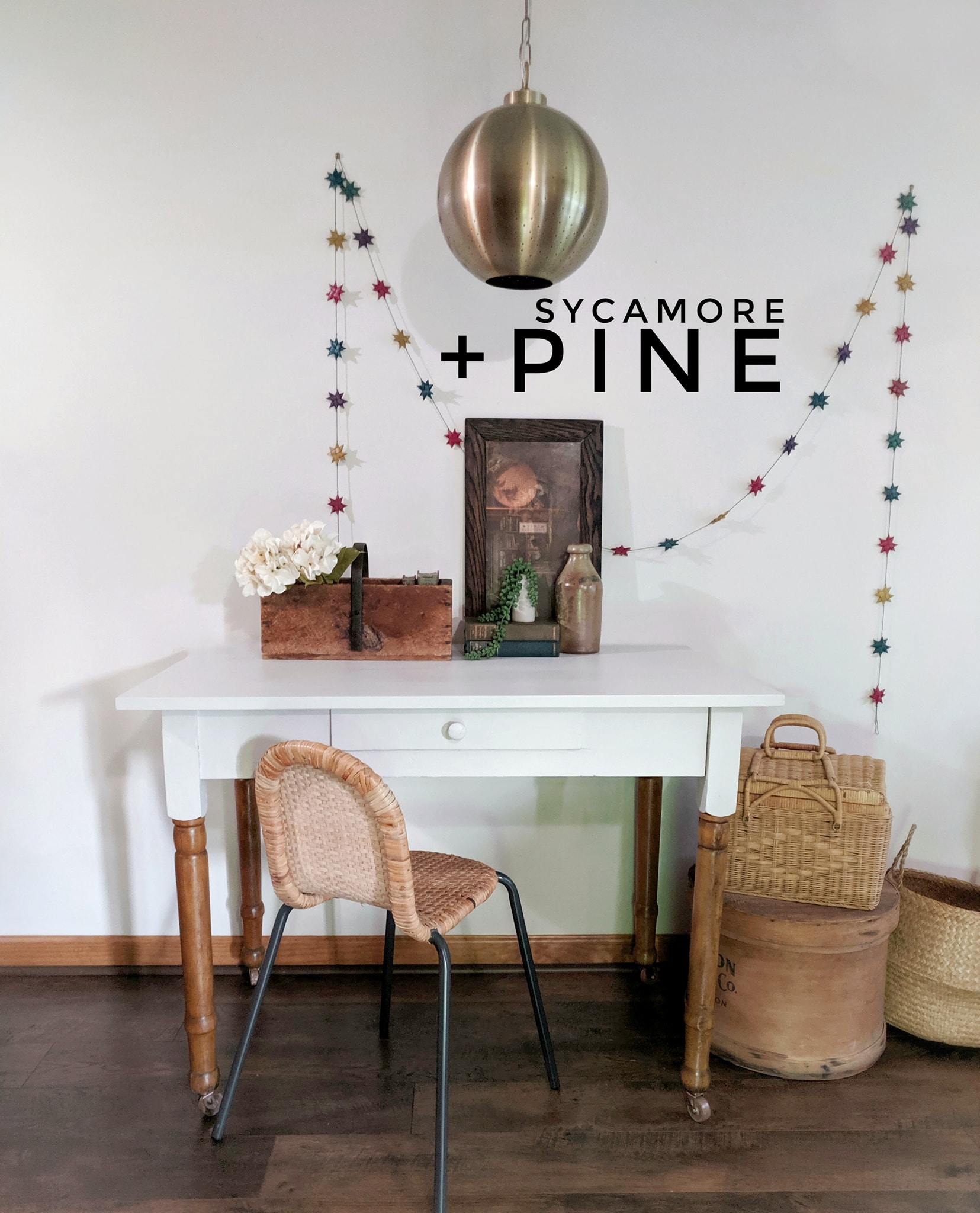 Primitive Pine Desk