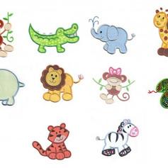 jungle sefari animals applique juju.jpg