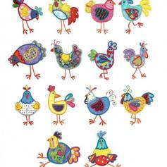Funky chickens appliue.jpg