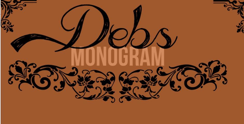 debs mongram pic.jpg