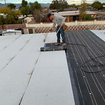 Torch-Applied Flat Roof