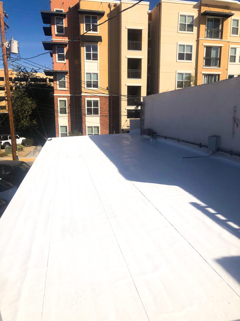 Downtown Patio Re-Roof