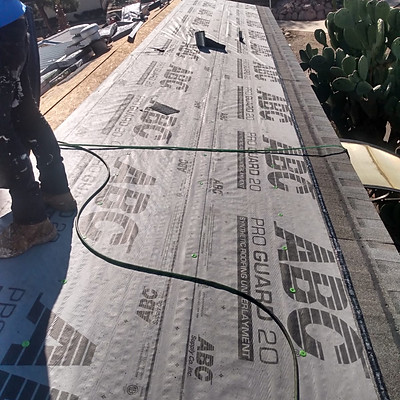 Mobile Home Re-Roofing Shingle