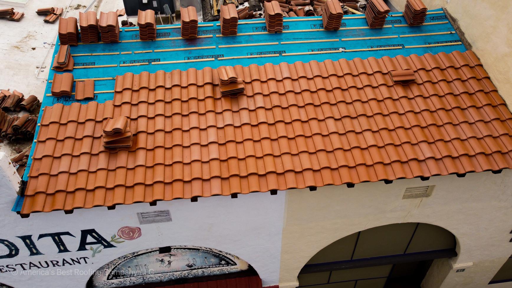 IBT'S Tile Re-Roof Portion