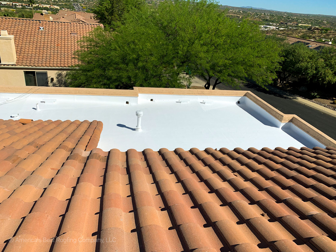 Tile Underlayment Re-Roof
