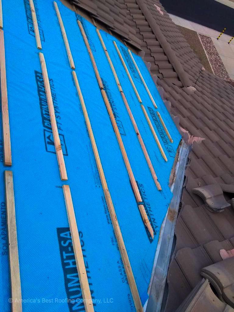 Tile Repair - After