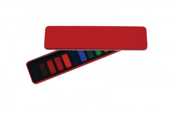 RED WATERCOLOUR TIN 12 WHOLE PANS