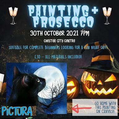 Halloween Painting & Prosecco night!