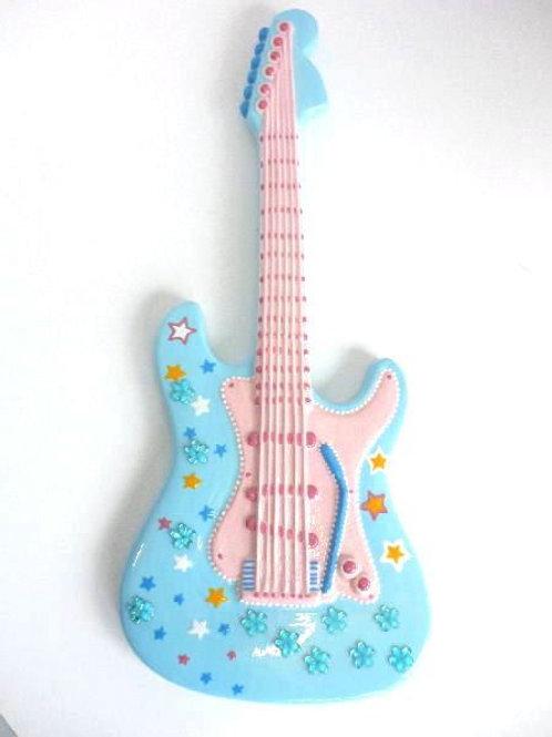 Electric Guitar Plaque 35.5 cm L