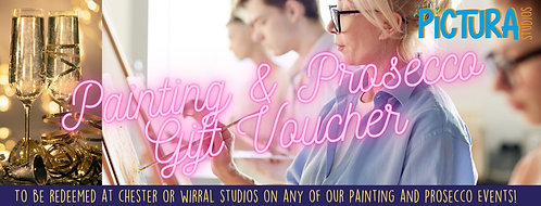 Painting and Prosecco Gift Voucher