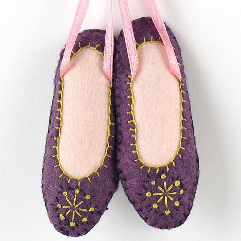 Dancing Shoe- Mini Felt Craft Kit