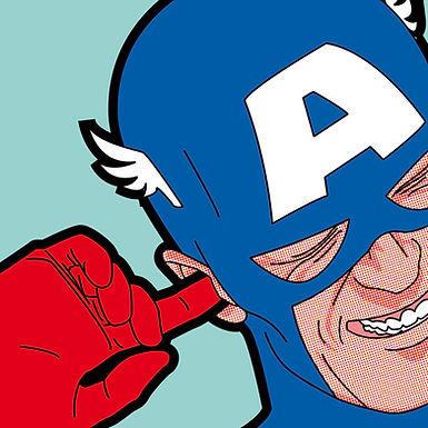 Superhero Character Pop Art!