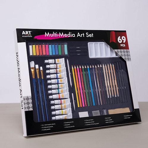 ART essentials Mixed Media Art Set - 69 Pieces