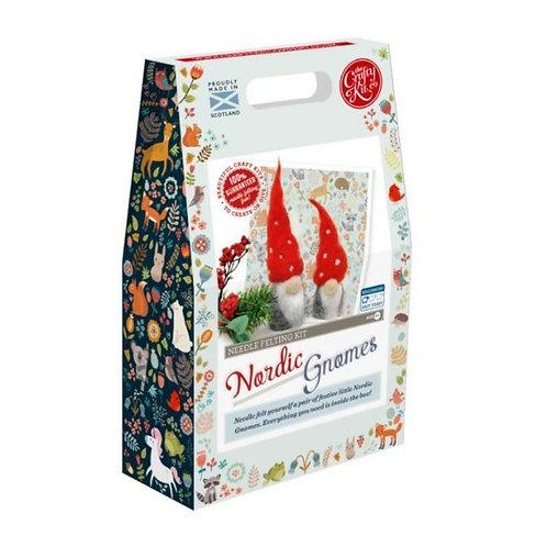 Nordic Gnomes Needle Felting Kit
