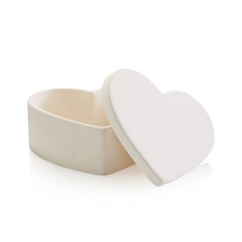Heart Box (Large) 12.1cm W x 5.7cm H