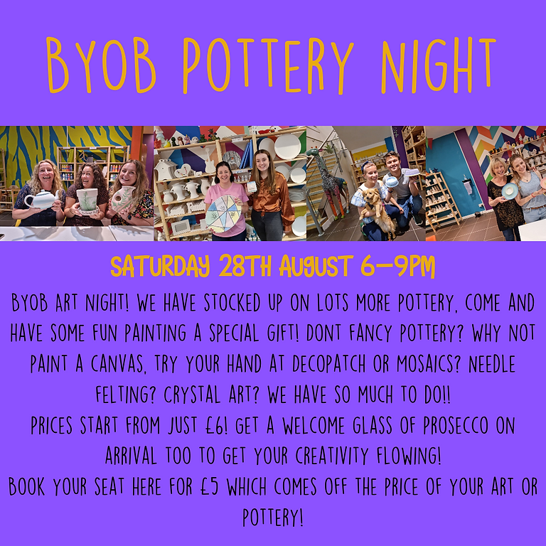BYOB Pottery Night