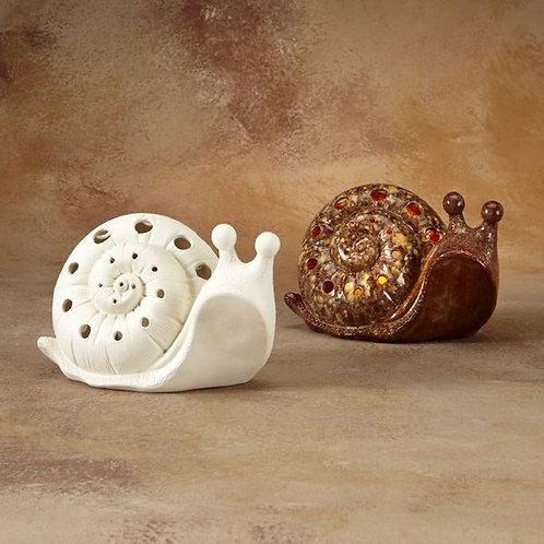 Snail Lantern 12.7cm x 20.3cm