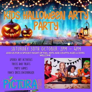 Children's Halloween Arty Party