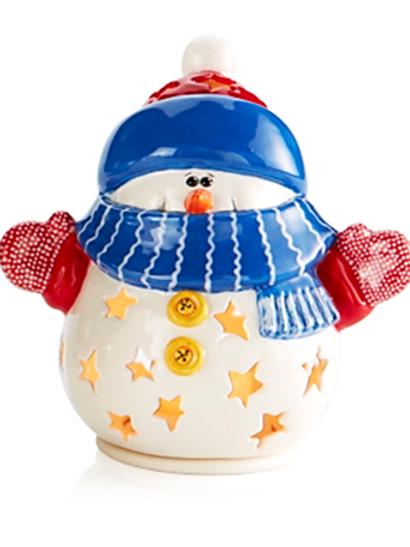 Snowman Lantern 15.2 cm