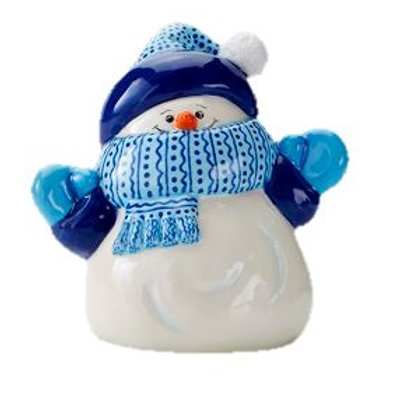Snowman Party Animal 10.2cm W x 10.8cm H