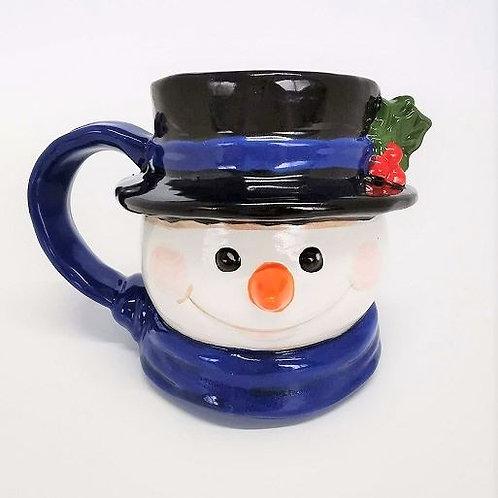 Vintage Snowman Mug (14oz)