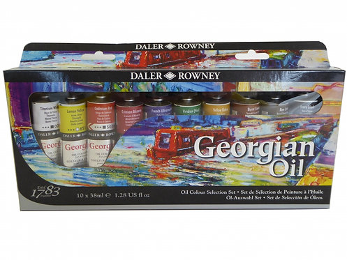 DALER GEORGIAN OIL SELECTION SET 10x38ml